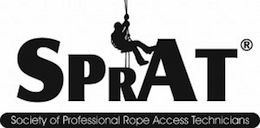A Proud Member of the Society of Professional Rope Access Technicians