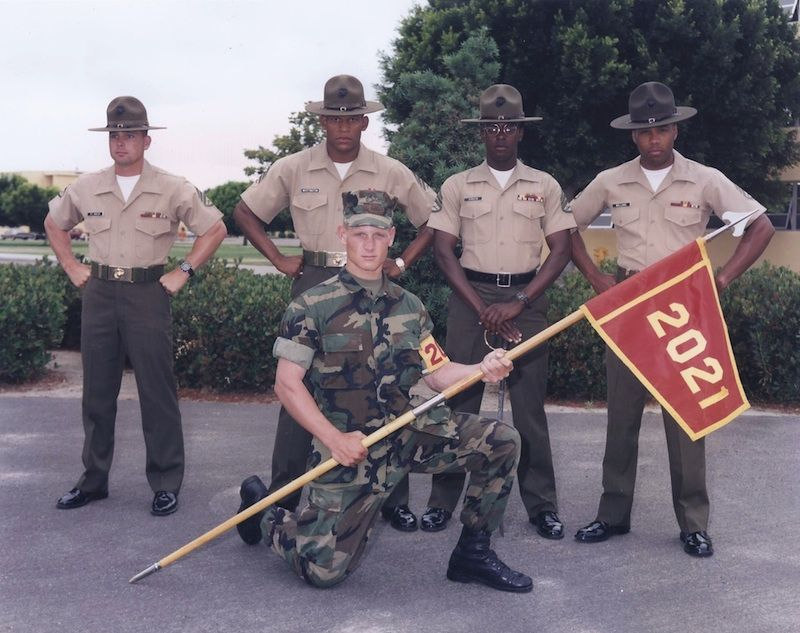 Shannon Bigger Is a Proud, Active Member of the U.S. Marine Corps